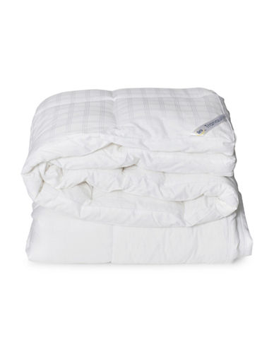 Serta Tranquility 300 Thread Count Lux Loft Cotton Duvet-WHITE-King