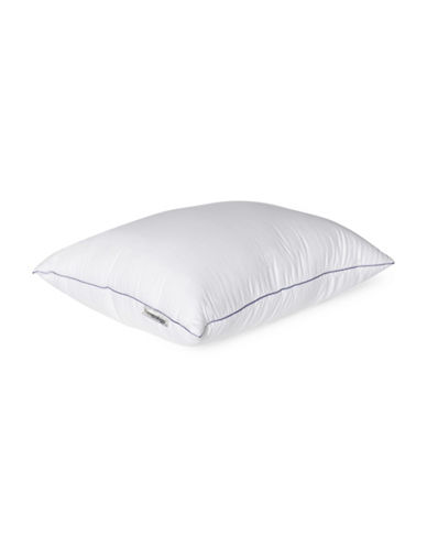 Sleepology Memory Touch 300 Thread Count Satin Textured Pillow-WHITE-Queen