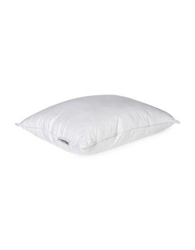 Sleepology Cool Comfort 400 Thread Count Plain Pillow-WHITE-Queen