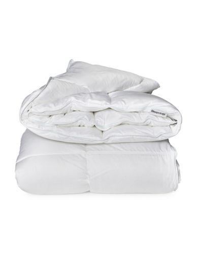 Sleepology Cool Comfort 400 Thread Count Duvet-WHITE-Full/Queen