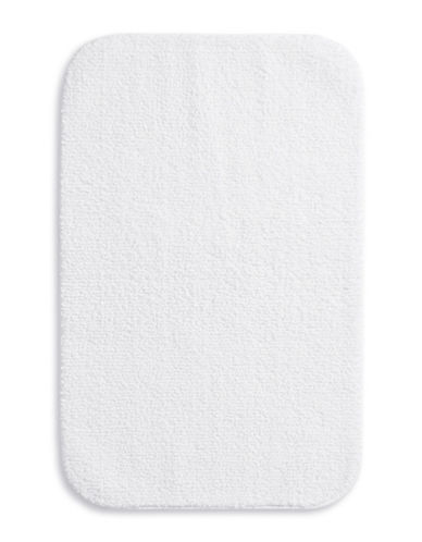 Essential Needs Bath Rug-WHITE-One Size