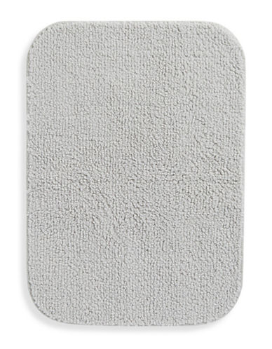 Essential Needs Creamy Nylon Bath Rug-QUIET GREY-One Size
