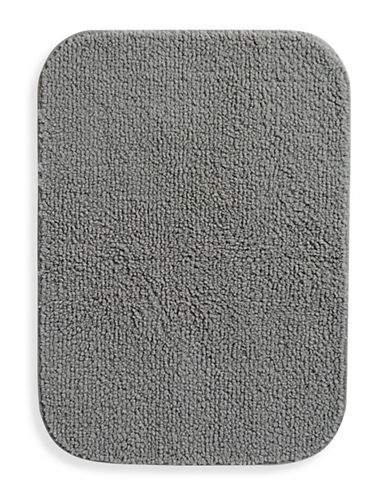 Essential Needs Creamy Nylon Bath Rug-SMOKED PEARL-One Size