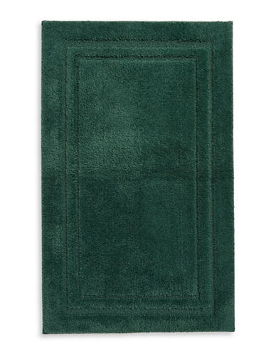 Home Studio Rectangular Imprint Nylon Bath Rug-PINE-One Size