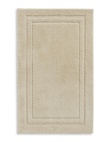 Home Studio Rectangular Imprint Nylon Bath Rug-STRING-One Size