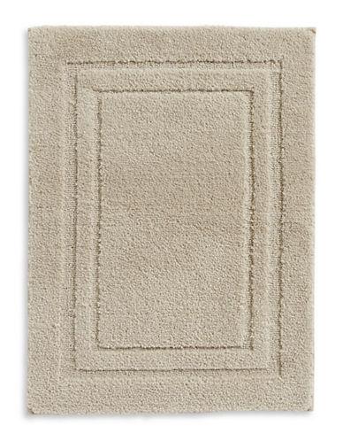 Home Studio Rectangular Pattern Nylon Bath Rug-STRING-One Size