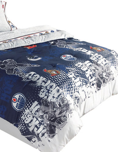 Nhl NHL Breakaway Comforter Set-MULTI-Double