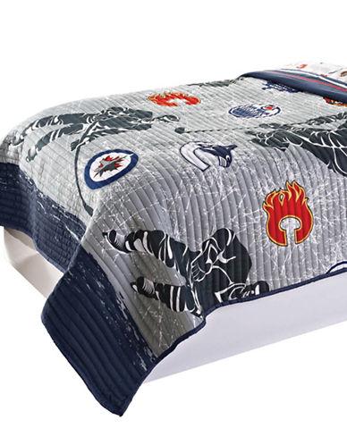 Nhl NHL Draftpick Quilt Set-MULTI-Double