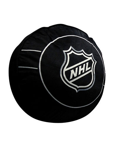Nhl NHL Draftpick Puck Cushion-BLACK-One Size
