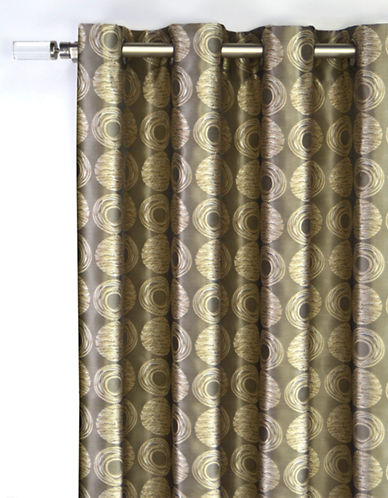 Home Studio Gemma 84in Window Panel-TAUPE-84 inches