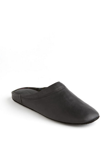 Dockers Aristocrat Slippers-BLACK-10W