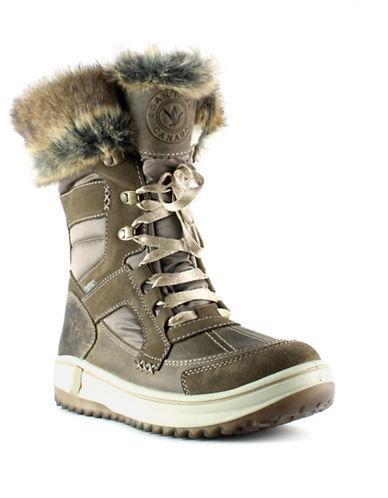 Santana Canada Marta Weatherproof Boots-TAN-11