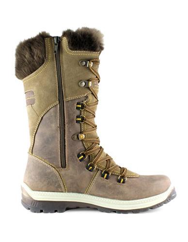 Santana Canada Morella Anti-Slip Alpine Boots-BROWN-10