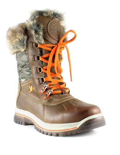 Santana Canada Maldine Weatherproof Boots-CHESTNUT-10