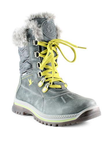 Santana Canada Maldine Weatherproof Boots-GREY-10