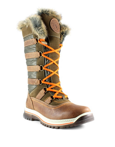 Santana Canada Milani Tall Shaft Cold Weather Boots-CHESTNUT-9
