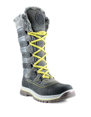 Santana Canada Milani Tall Shaft Cold Weather Boots-GREY-7