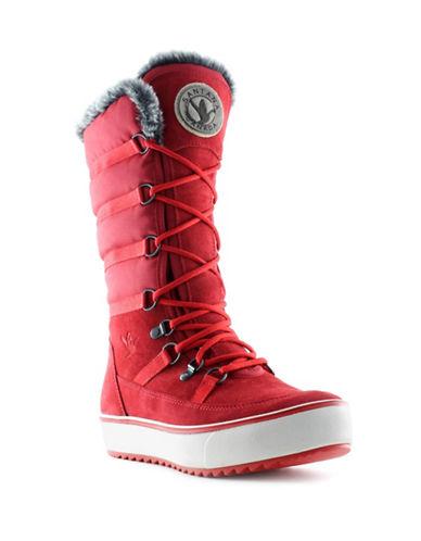 Santana Canada Mackenzie Weatherproof Boots-RED-7