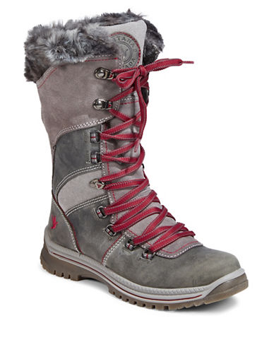 Santana Canada Cold-Weather Morella Leather Boots-CHARCOAL-6