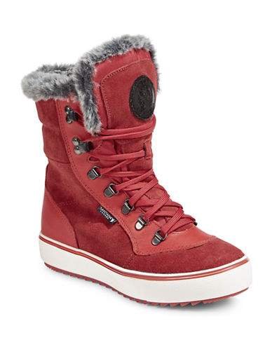 Santana Canada Mixx Winter Boots-RED-9