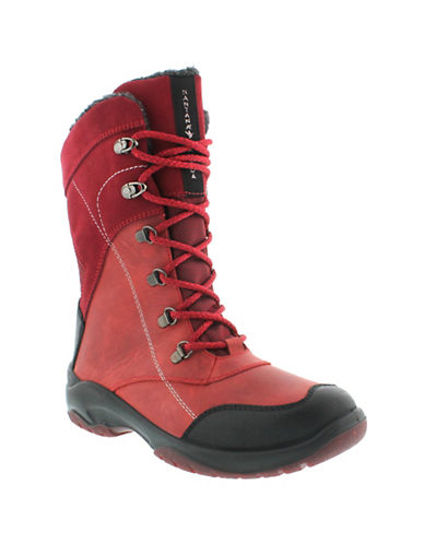 Santana Canada Topspeed Mid Boots-RED-11