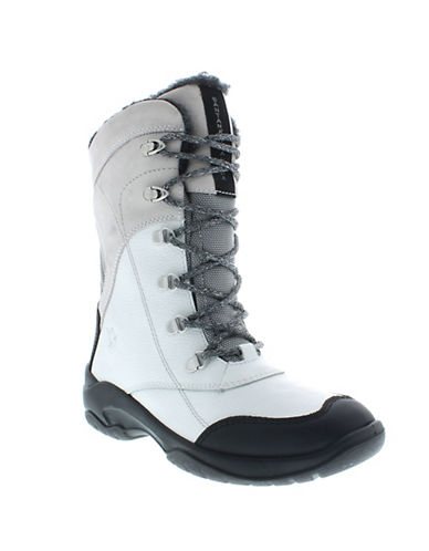 Santana Canada Topspeed Mid Boots-WHITE-8