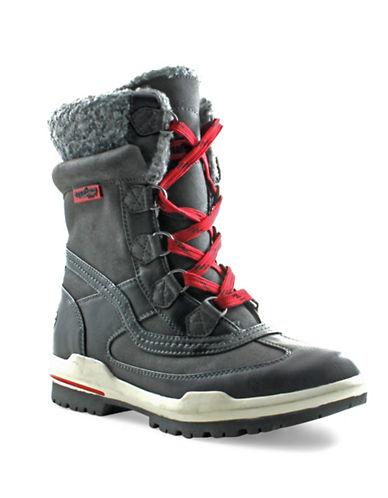 Aquatherm By Santana Canada Turnpike South Faux Fur-Trim Winter Boots-BLACK-6