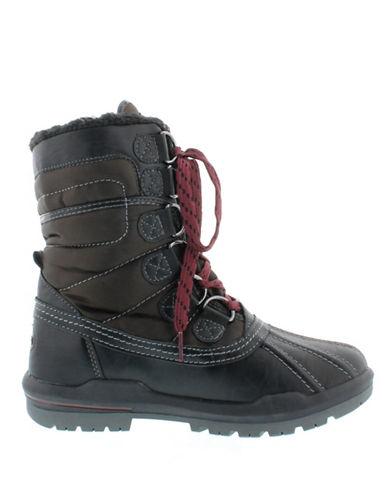 Aquatherm By Santana Canada Camp Short Winter Boots-BLACK-6
