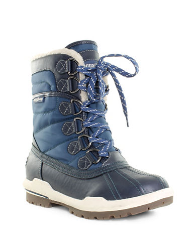 Aquatherm By Santana Canada Camp Short Winter Boots-NAVY-10