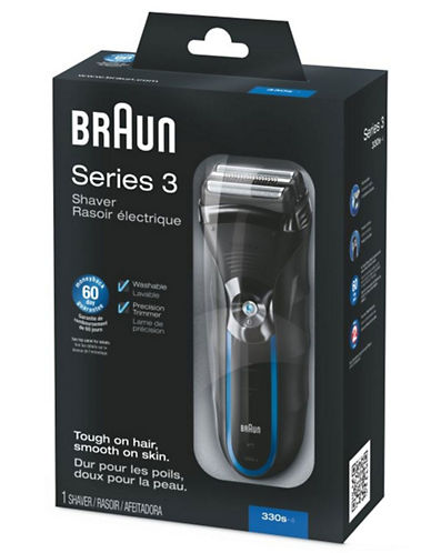 Braun Series 3 330 Shaver black One Size