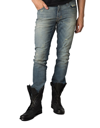 Rogue State Antiqued Jeans-BLUE-33X32