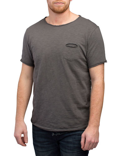 Rogue State Raw Edge Crew Neck T-Shirt-CHARCOAL-XX-Large 88396145_CHARCOAL_XX-Large