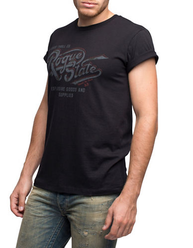 Rogue State Vintage Printed Tee-BLACK-X-Large 88254159_BLACK_X-Large