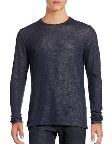 Nn07 Noel Merino-Bamboo Sweatshirt-NAVY-X-Large 88728850_NAVY_X-Large