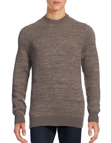 Nn07 Crew Neck Sweater-BROWN-Small