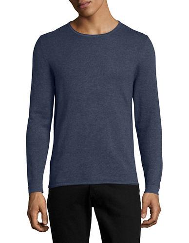 Nn07 Tom Crew Neck Sweater-BLUE-Small