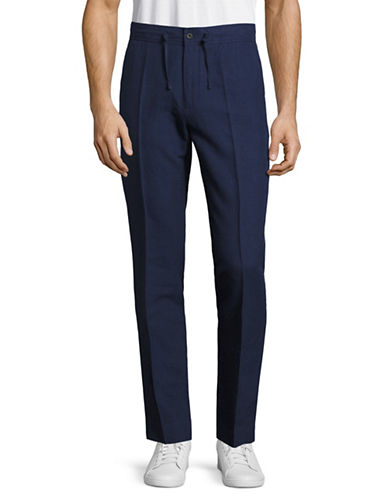 Nn07 Copenhagen Drawstring Pants-BLUE-50