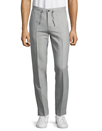 Nn07 Copenhagen Drawstring Pants-GREY-46