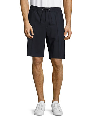 Nn07 Adrian Regular Fit Drawstring Shorts-NAVY-50
