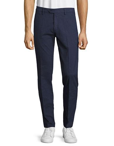 Nn07 Theo Slim Fit Dress Pants-BLUE-32X36