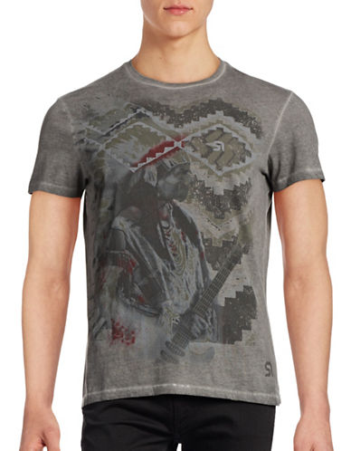 Rogue State Short Sleeve Graphic T-Shirt-GREY-XX-Large 88887662_GREY_XX-Large