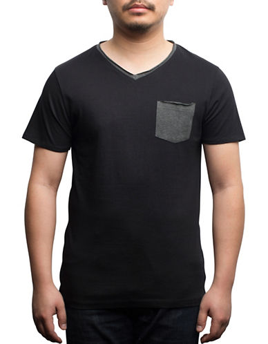 Rogue State Cotton Contrast Pocket Tee-BLACK-X-Large 89105381_BLACK_X-Large