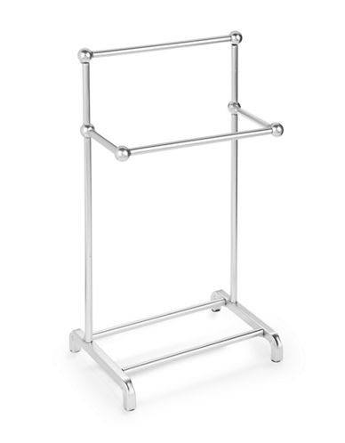 Columbia Satin Chrome Fingertip Towel Stand-CHROME-One Size