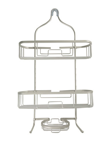 Columbia Grand Hanging Shower Caddy-SOFT SILVER-One Size