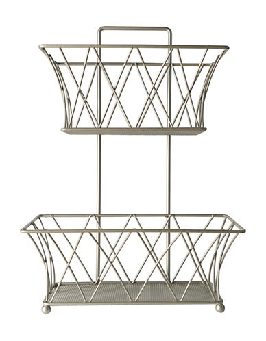 Columbia Corselico Two-Tier Steel Storage-SOFT SILVER-One Size