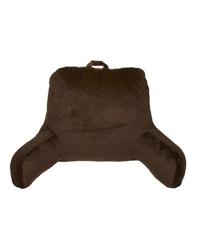 Commonwealth Home Fashions Quilted Bed Rest Pillow-CHOCOLATE-One Size