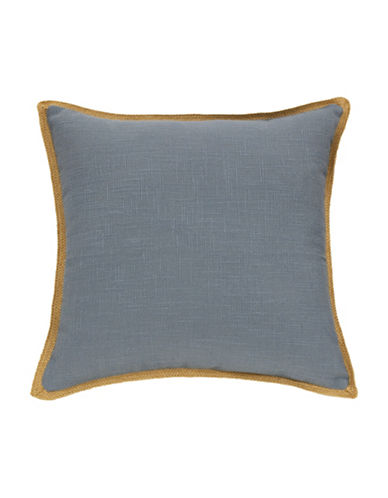 Commonwealth Home Fashions Jute Trim Cushion-CHAMBRAY-One Size