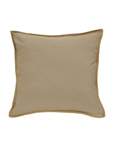 Commonwealth Home Fashions Jute Trim Cushion-NATURAL-One Size