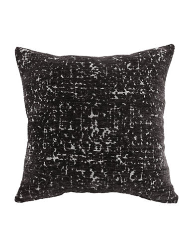Commonwealth Home Fashions Marbleized Chenille Cushion-GREY-One Size