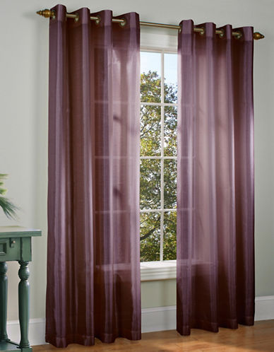 Commonwealth Home Fashions Milano Silk-Look Panel-LILAC-95 inches